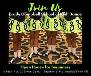 Brady Campbell School of Irish Dance Open House]